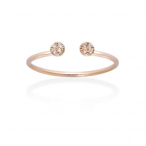 GOLD&ROSES ANILLO DOUBLE B.T.S