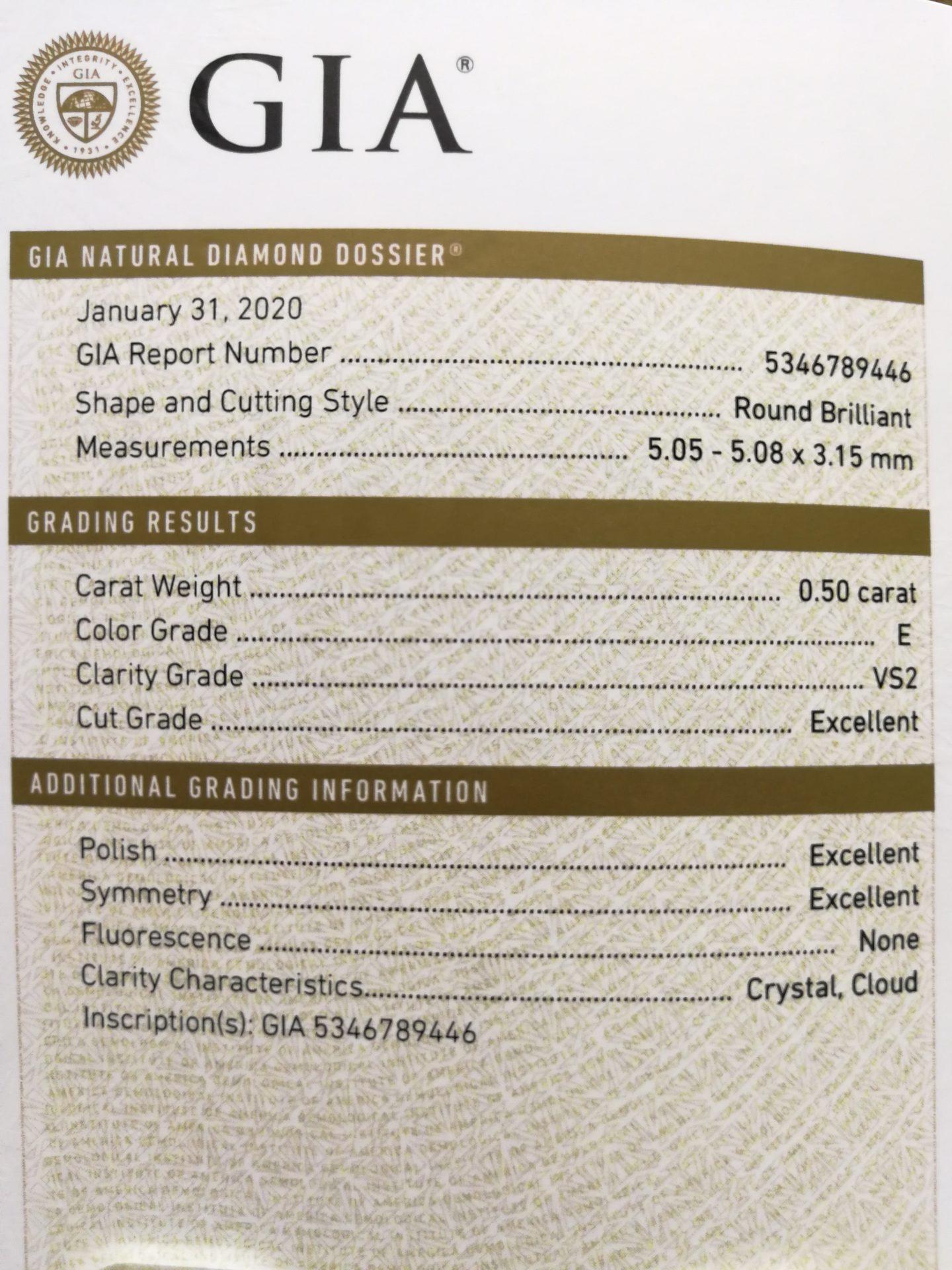 diamante EVS2 0,50 GIA Blasco Joyero